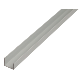 Aluminuim U Profil 10x25x13x2,5mm 2m