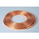 Kupferrohr im Ring 10 x 1 mm weich 50 m