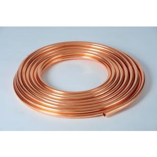 Kupferrohr im Ring 15 x 1 mm weich
